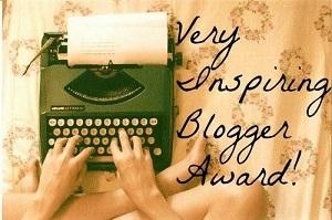 the very inspiring bogger award