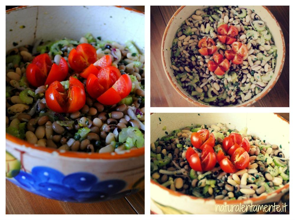 fagioli in insalata