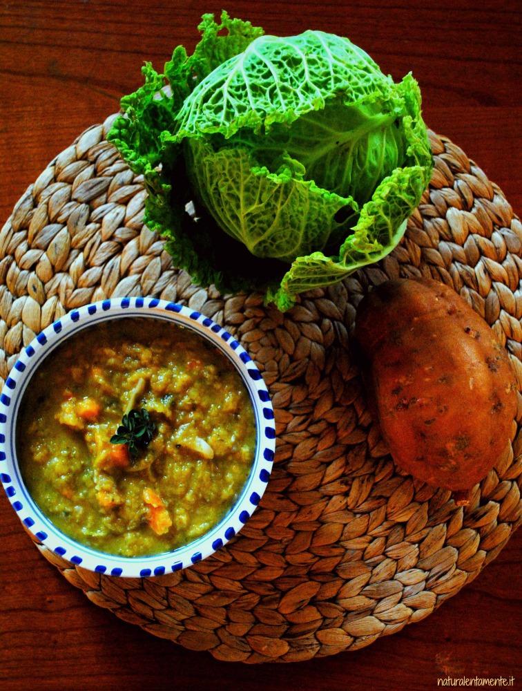 zuppa di verza e batata A