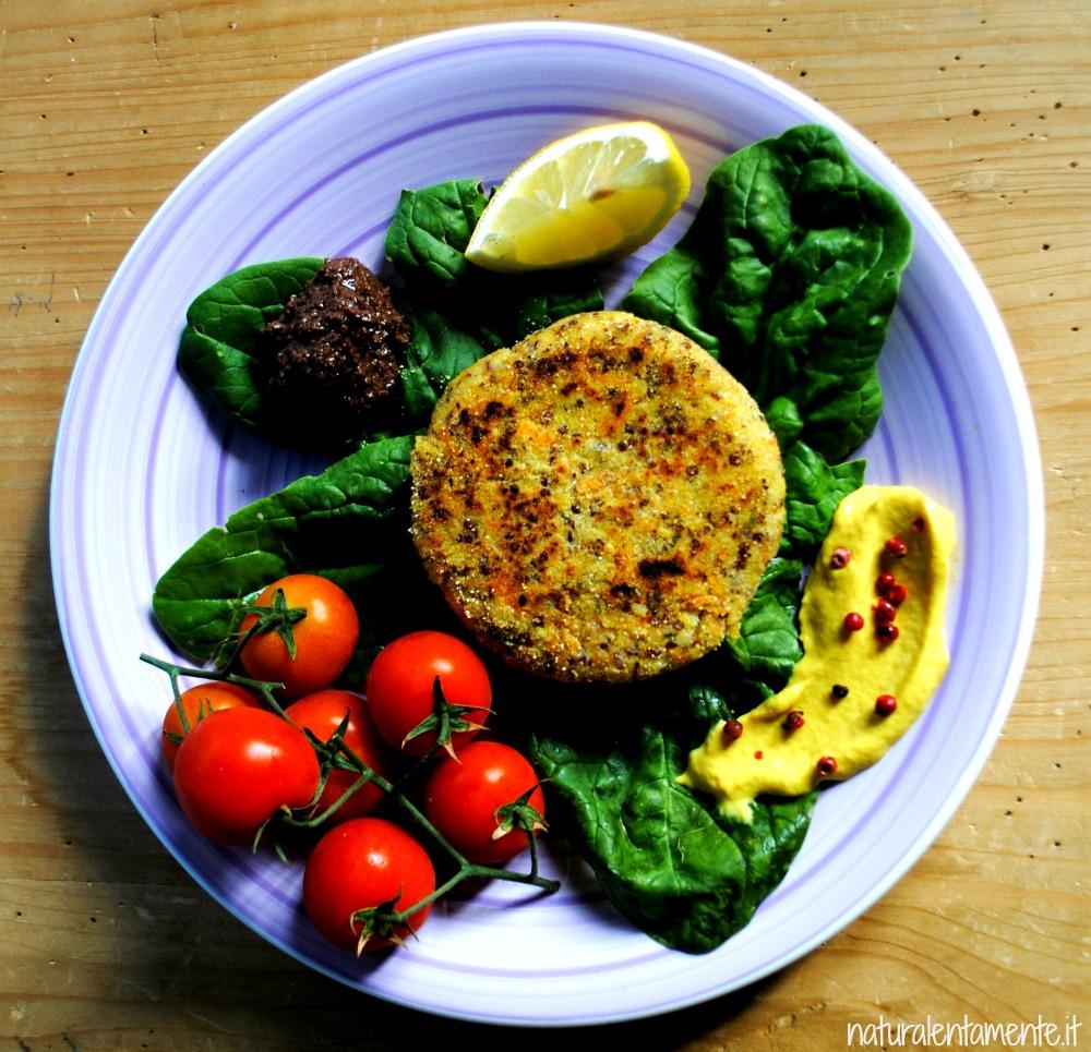burger miglio quinoa 3