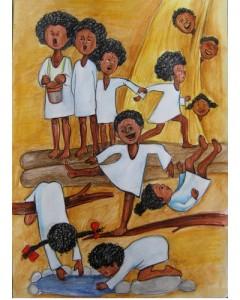 African Children, Roxana Soare