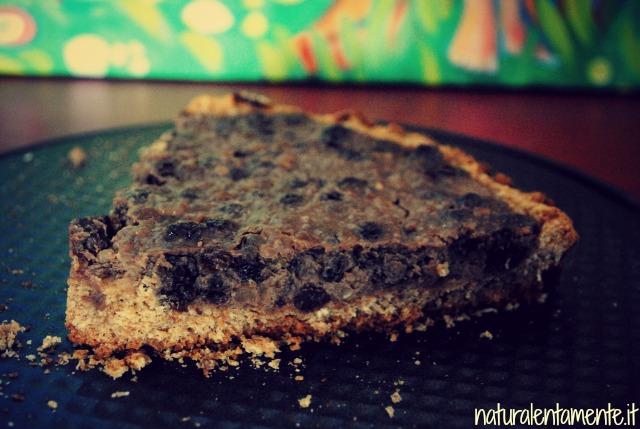crostata senza zucchero