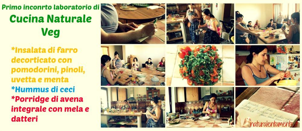 laboratori di cucina naturale