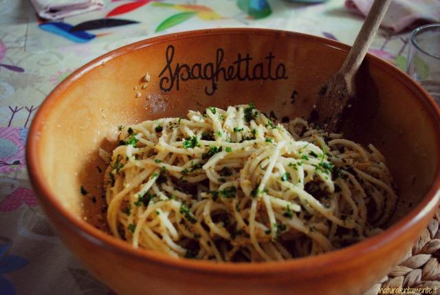 spaghetti di quinoa
