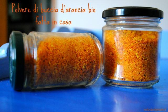 polvere d'arancia