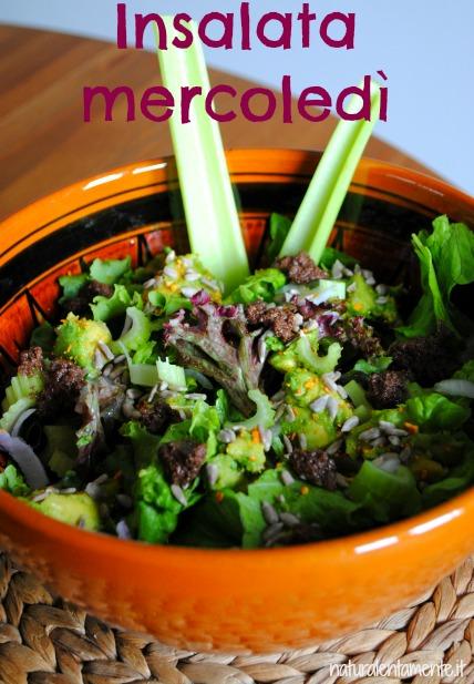 insalata mercoledì avocado