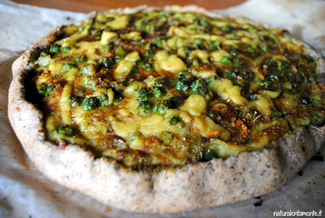 quiche vegan