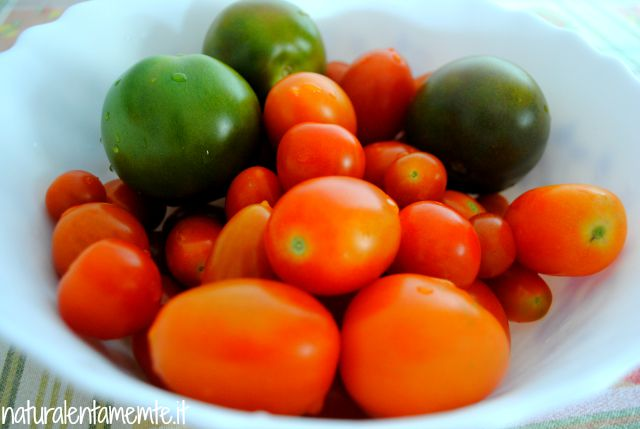 pomodori a luglio