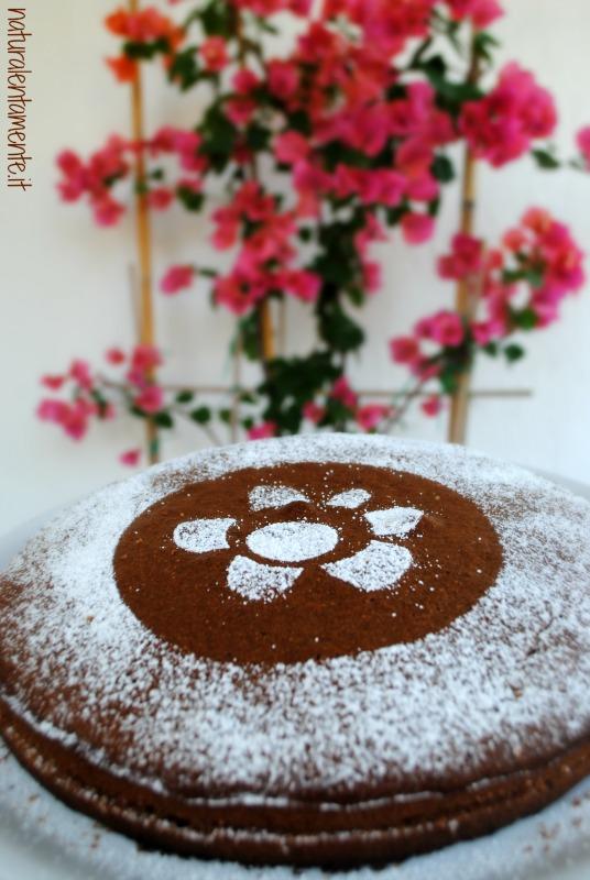 torta farcita vegana