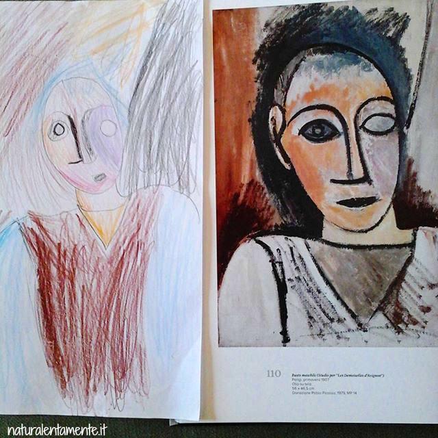 Attilio interpreta Picasso