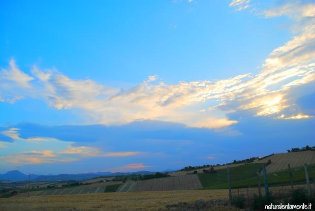 32 decrescita - cielo azzurro