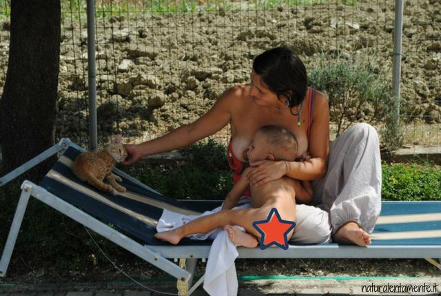 allattamento in gravidanza